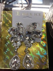 Clear Rhinestone Earrings #3251