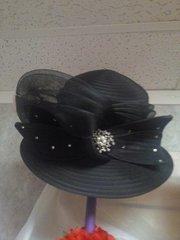 Black Dress Hat #3216
