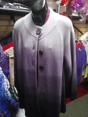 4 Tone Purple Sweater with Pockets