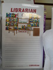 Librarian Notepad