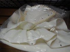 Winter White Dress Hat #3204