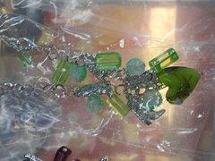 Green Western Bracelet #2765