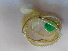 5 Pc Yellow Bracelets