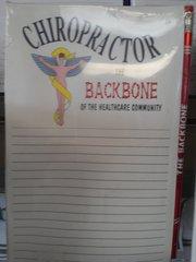 Chiropractor Notepad