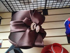 Brown Dress Hat #3208