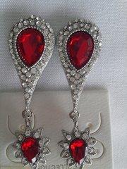 Red Earrings #3111