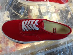 Red Levi Gym Shoes #2697