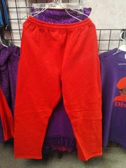 Red Sweatpants with Pockets #3515