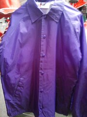 Purple Lined Windbreaker Jacket