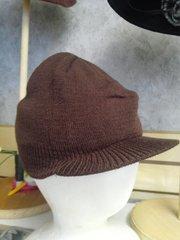 Brown Knit Cap #3508
