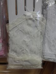 Off White Lace Gloves #2869