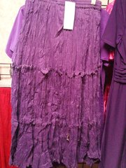 Purple Broom Skirt (Ankle length)