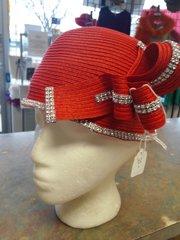 Mini Brim Red Hat