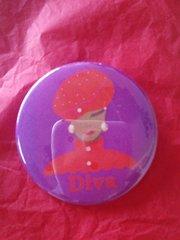 Diva 3 Button #2607