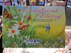 Butterflies and Blessings 20 Cards Assortment #2669