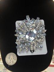 Rhinestone Brooch Pin #2789