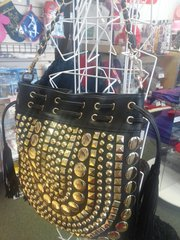 Black and Gold Purse #5905