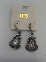 Antique Rhinestone Earrings 5816