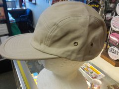 Tan Cap with Wide Bib #3524