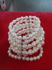 White Peal Bracelet #3009