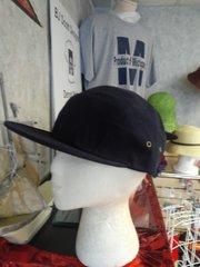 Navy Cap with Wide Bib #3523