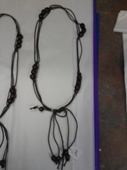 Brown Western Rope Necklace #2709