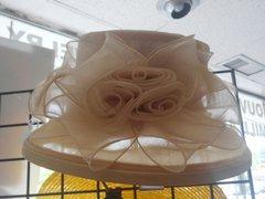 Beige Dress Hat #2978