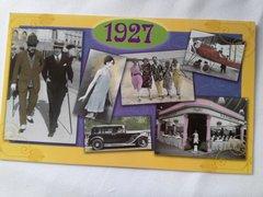 YOB Cards 1920-1929