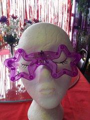 Prple Flashing Glasses #2860