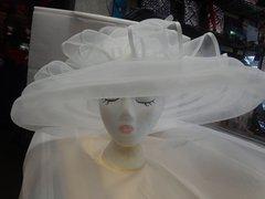Wide Brim Fancy Hat #3600