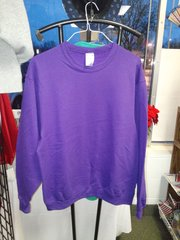 Plain Purple Sweatshirt