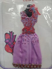 Red Hat Dress Card #2681