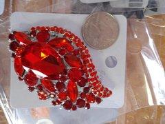 Red Brooch Pin #2911