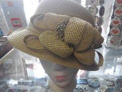Green Derby Style Hat #2962