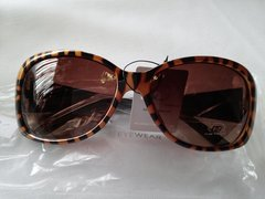 Brown with Black Sunglasses