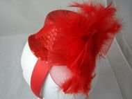 Red Sequin Headband