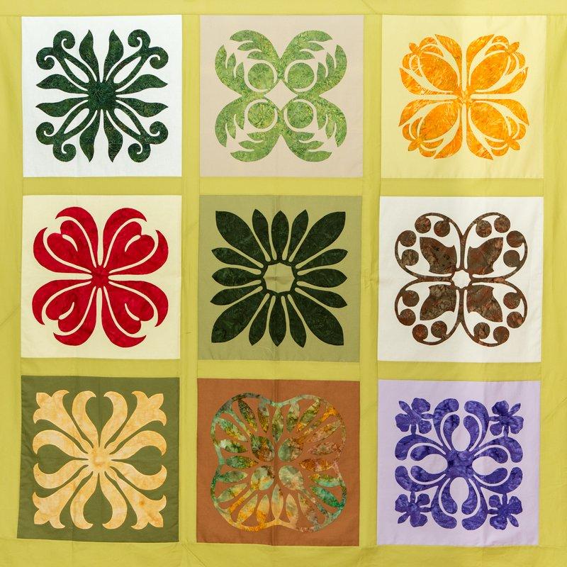 garden poakalani co with hawaiian sampler the art walllhanging exploring quilt quilting and