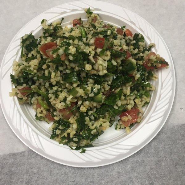 Homemade Tabouli Salad