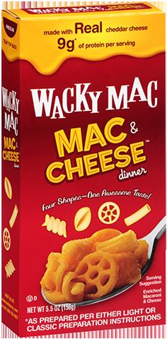 Wacky Mac Macaroni 5.5oz