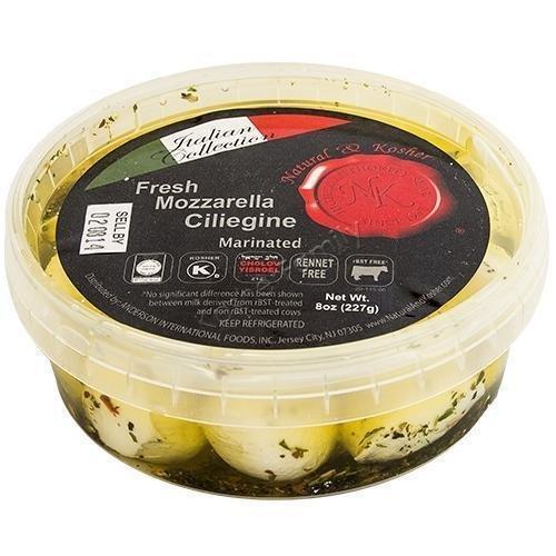 Natural & Kosher Fresh Mozzarella Ciliegine