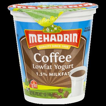 Mehadrin Lowfat Coffee Flavor Yogurt