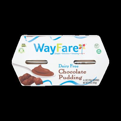 WayFare Dairy Free Chocolate Pudding 4 ct