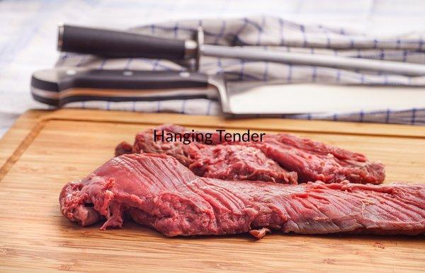 Hanging Tender (lb.) -- gluten-free, non-GMO, no MSG, all natural