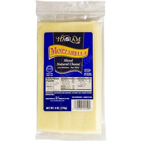 Haolam Mozzarella Slices 6 oz