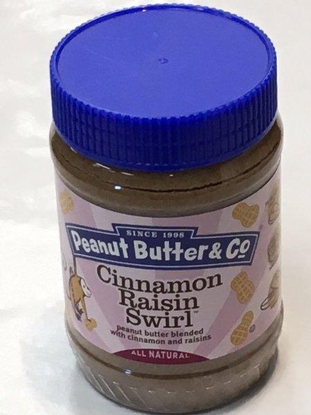 Peanut Butter & Co Cinnamon Raisin Swirl