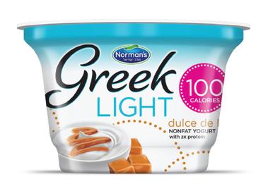 Norman's Greek Light Yogurt Dulce De Leche