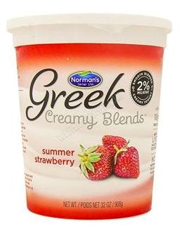 Norman's Greek Creamy Blends - Summer Strawberry
