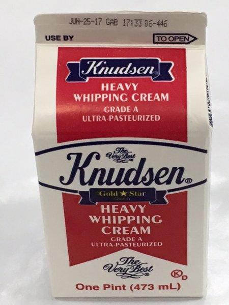 Knudsen Heavy Whipping Cream 473 ml