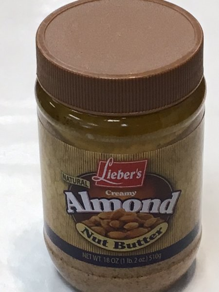 Creamy Almond Butter 18 oz