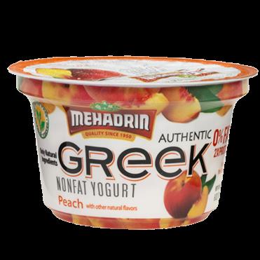 Mehadrin Greek Yogurt Peach